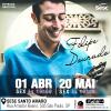 Filipe Dourado toca Waldir Azevedo   01/abril/2016 e 20/maio/2016 às 19h00   Sesc Santo Amaro